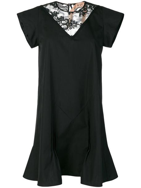 No21 dress mini dress mini women lace cotton black