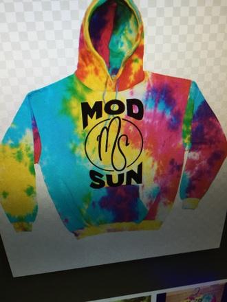 sweater tie dye mod sun hoodie other streetwear