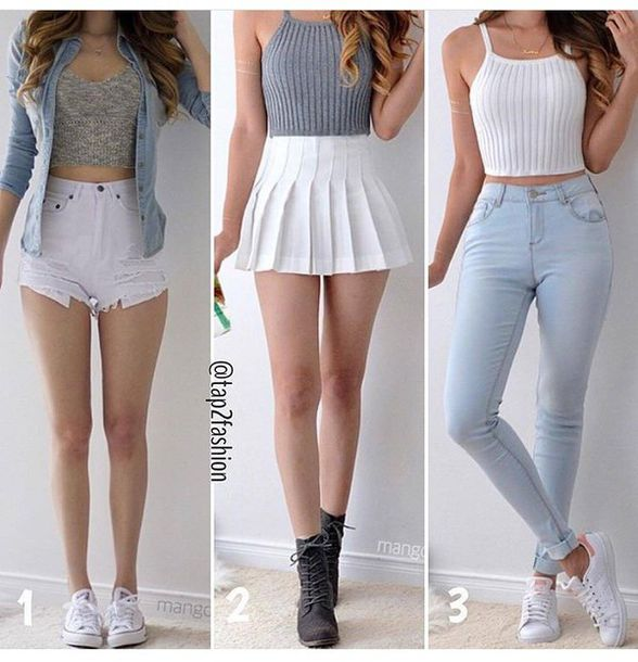Cute Summer Outfits With High Waisted Shorts - Hardon Clothes