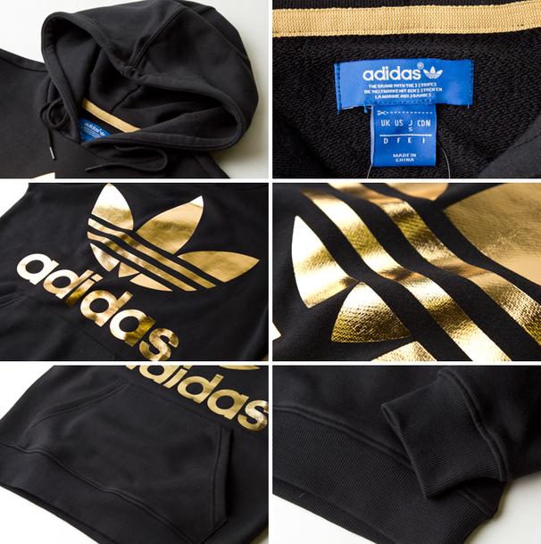 sweater gold adidas gold adidas sweater adidas hoodie