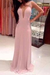 dress,fashion,pink,silk,long,prom,red,white,pretty