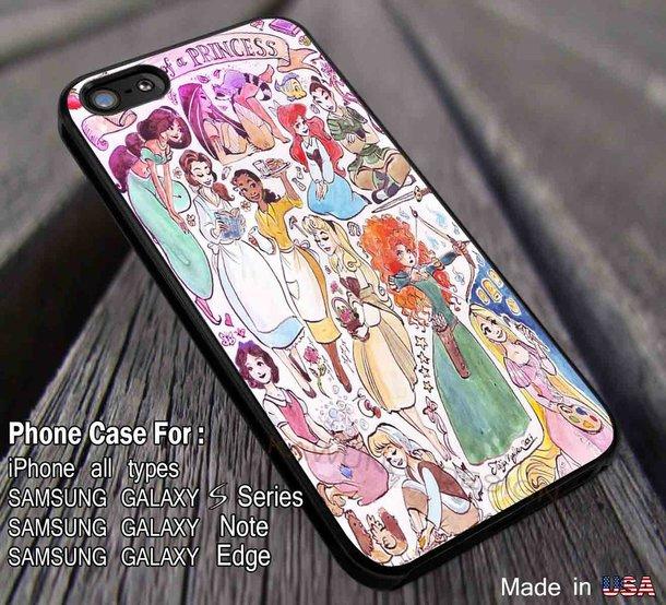Disney Princess iPhone 6/6s Cases