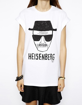 ASOS T-Shirt with Breaking Bad Heisenberg Print at asos.com