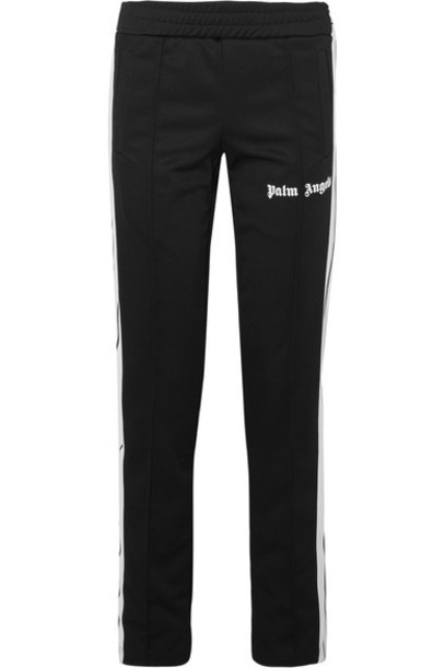Palm Angels pants track pants black