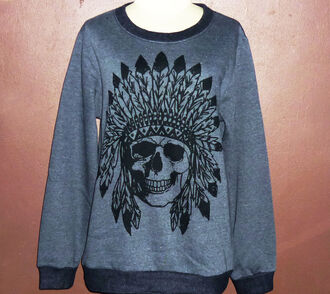 sweater skull fashion mohawks shirt indian skull shirt goth girl rock skull skull art skull sweater skull t-shirt native american native skull skull native indian skull indian skull clothing crew neck sweater crew neck t shirt crew neck sweatshirt jumper sweater crew neck t shirts jumper sweatshirt mesh sheer seethrough transparent black shirt sweater gray sweater long sleeve sweatshirt skeleton shirt gothic clothing winter sweater winter shirt winter t-shirt gift winter gothic style goth punk punk rock punk rock shirt rock rock clothing gothic fashion horror metal emo metal shirt punk t-shirt punk shirt punk dress punk clothes the rocket summer horror shirts metal girl mohawk indian skull face skull african
