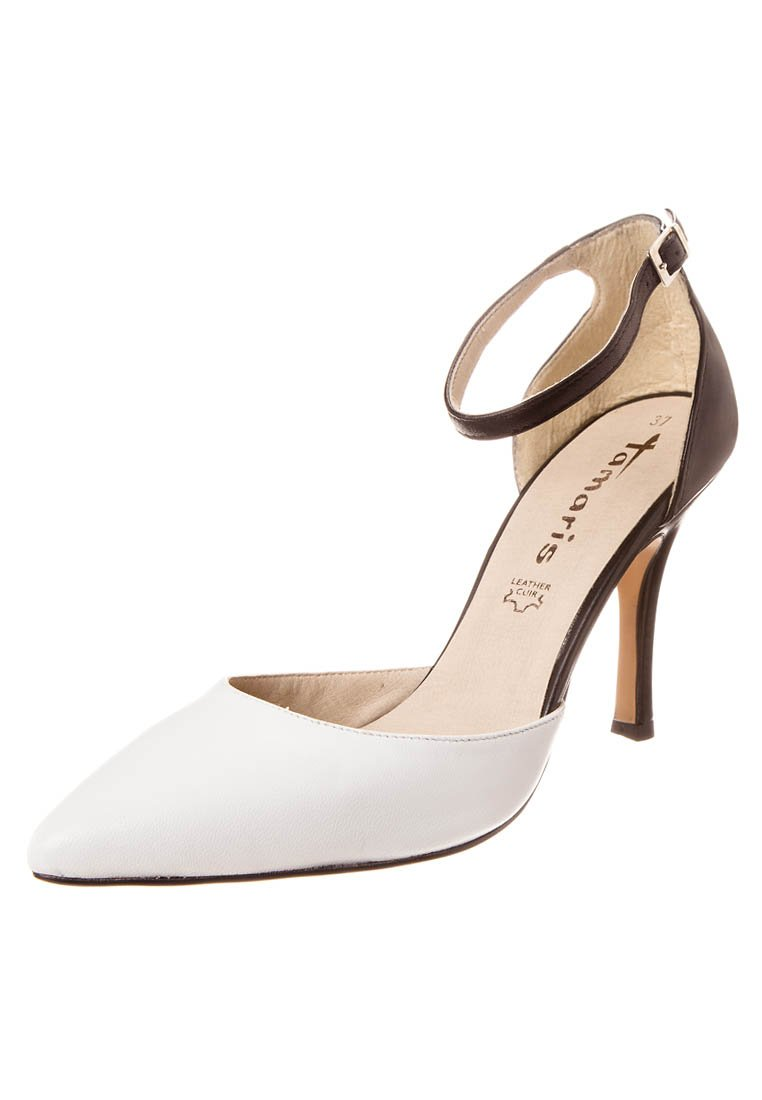 Tamaris High Heel Pumps - black/white - Zalando.de