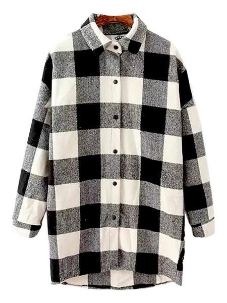 Oli oversized flannel shirt