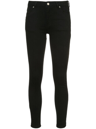 jeans denim women spandex cotton black 24