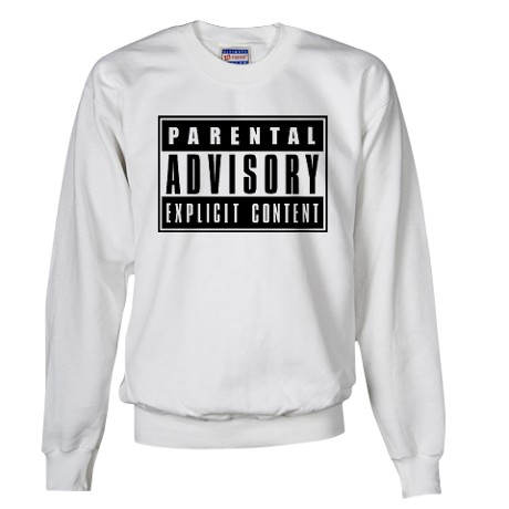 Parental Advisory Explicit Content Sweater by listing-store-73459733