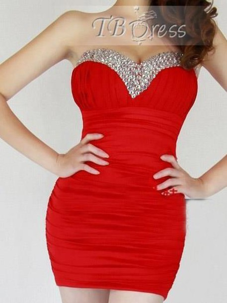 7c477210bd0a bodycon dress bodycon red dress red dress red bodycon red bodycon dress  strapless strapless dress strapless