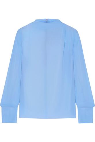 blouse chiffon blouse chiffon silk top
