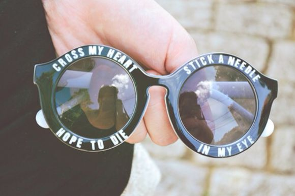 sunglasses black hipster writing round white black