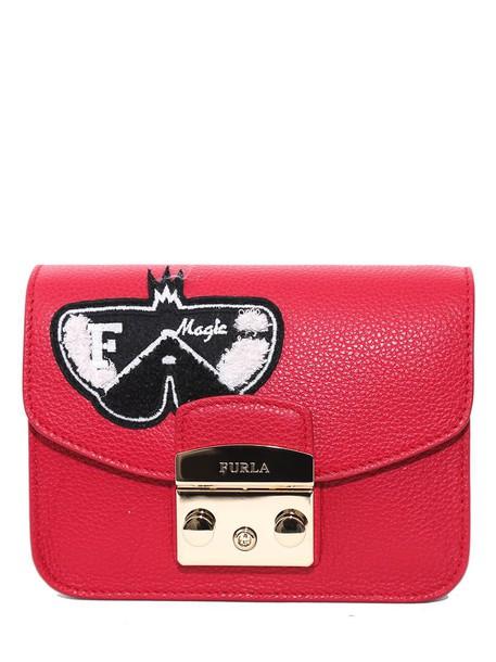 Furla bag shoulder bag red