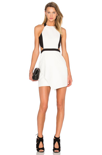 dress bodycon bodycon dress white black