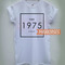 The 1975 t shirt women men and youth size s to 3xl