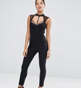jumpsuit black black jumpsuit party outfits sexy sexy outfit summer outifts summer outfits spring outfits fall outfits winter outfits classy elegant cute girly clubwear wedding clothes wedding guest romantic