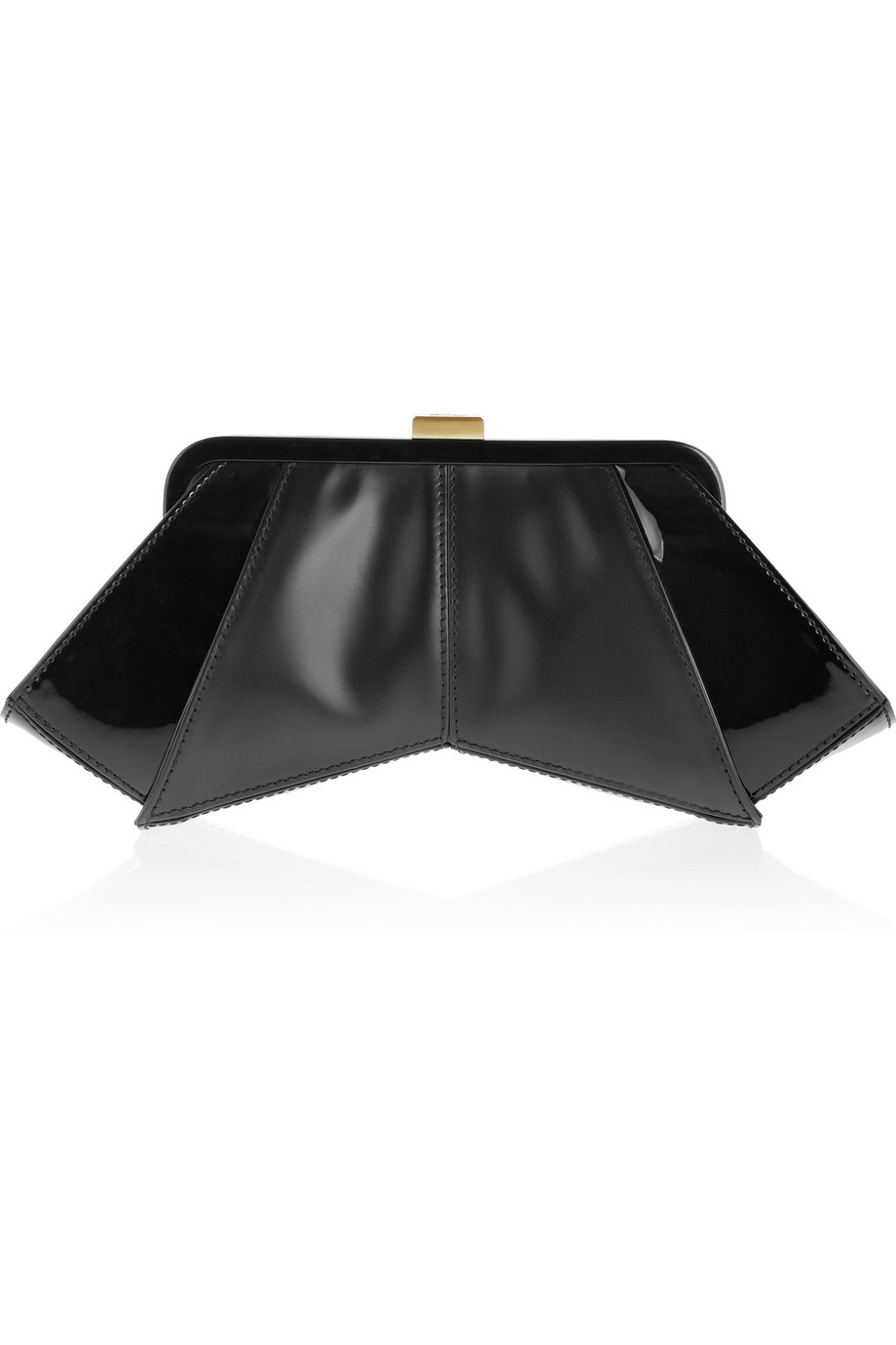 Posen leather and PVC clutch | ZAC Zac Posen | THE OUTNET