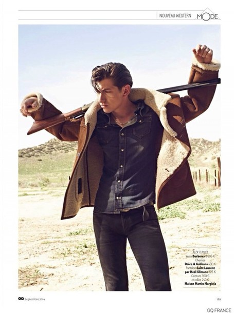 coat alex turner grunge style menswear shearling jacket