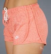 shorts,nike,summer,cute,nike tempo shorts,pink nike neon