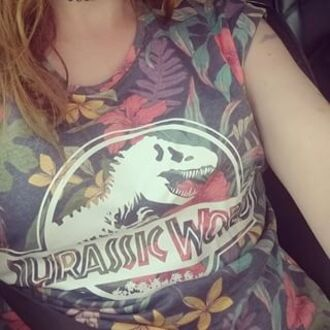 shirt jurassic world film movie flowers merchandise movie merchandise film merchandise