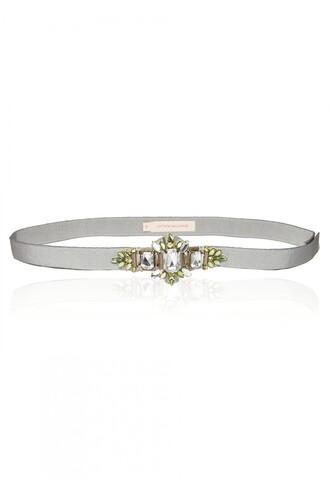 belt embellished rhinestones wedding accessories