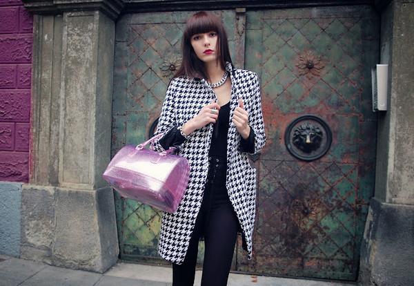 bag pink fashion girl