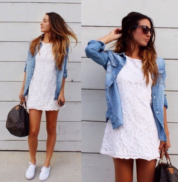 dress casual casual dress trendy white dress