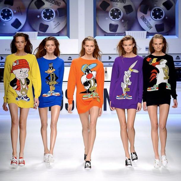 sweater tunic tunic dress fashion fashion week 2015 sweater dress
