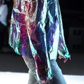 jacket,holographic,hologram jacket