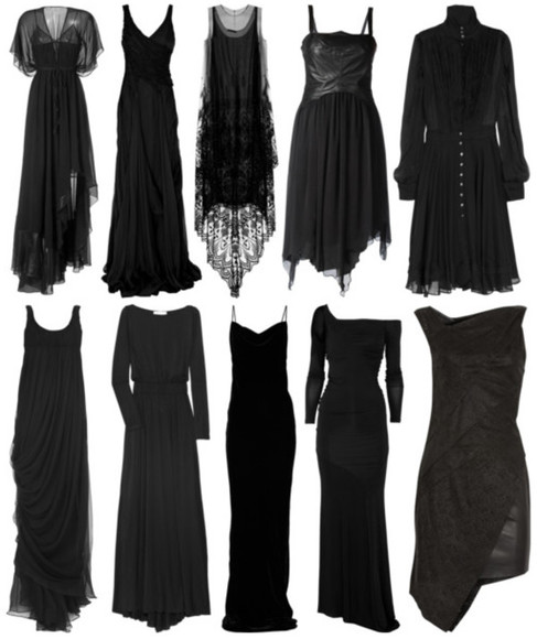dress black maxi dress black dresses clothes