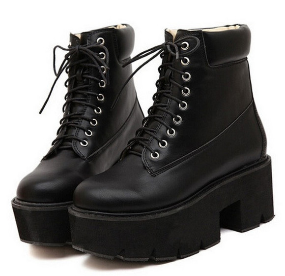 boots ankle boots platform boots plataform sneakers wow high ankle