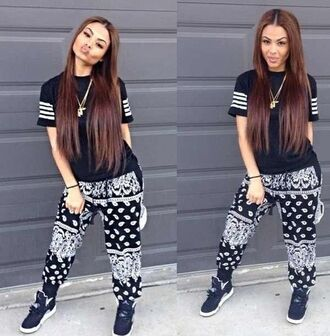shoes jordans bandana print india westbrooks oversized