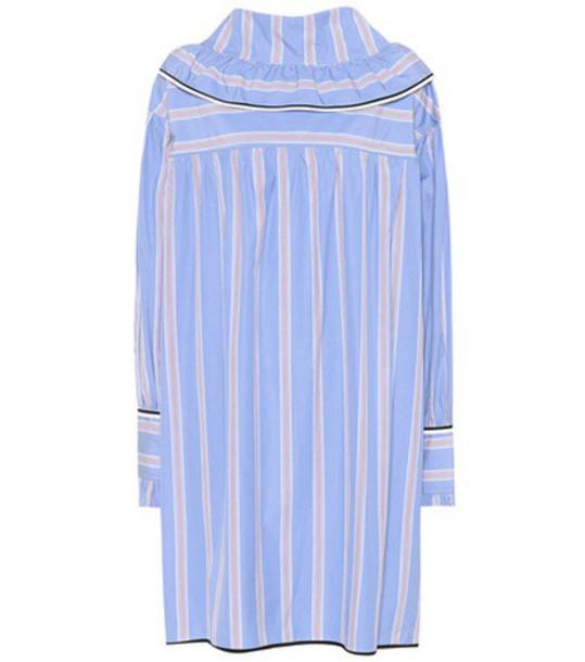 MARNI dress cotton blue