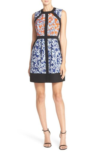 dress floral dress floral print printed dress graduation dress bcbg