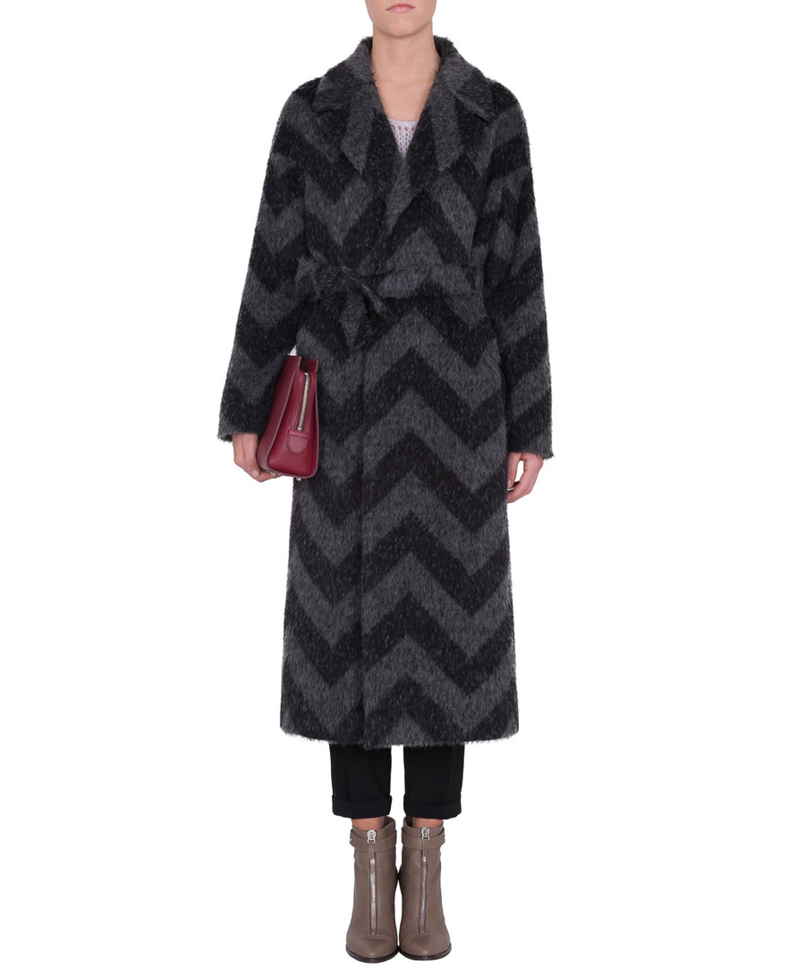 NATURA Robe-style overcoat in a wool/mohair blend | MAX&Co. online Shop