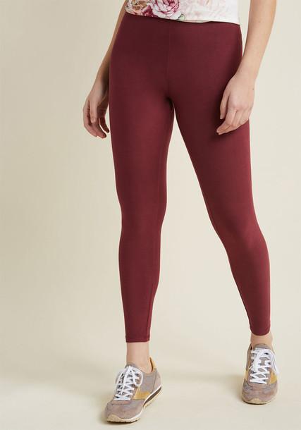 Modcloth leggings red pants