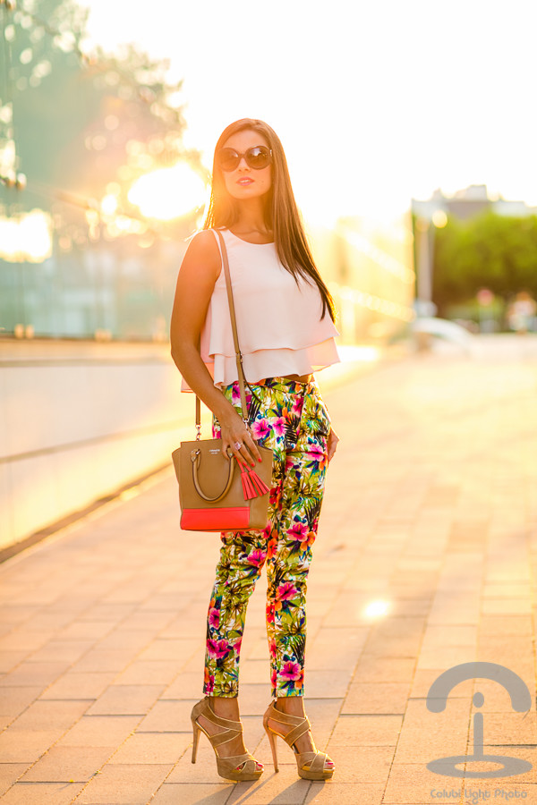 crimenes de la moda top sunglasses jewels shoes bag pants tropical pants