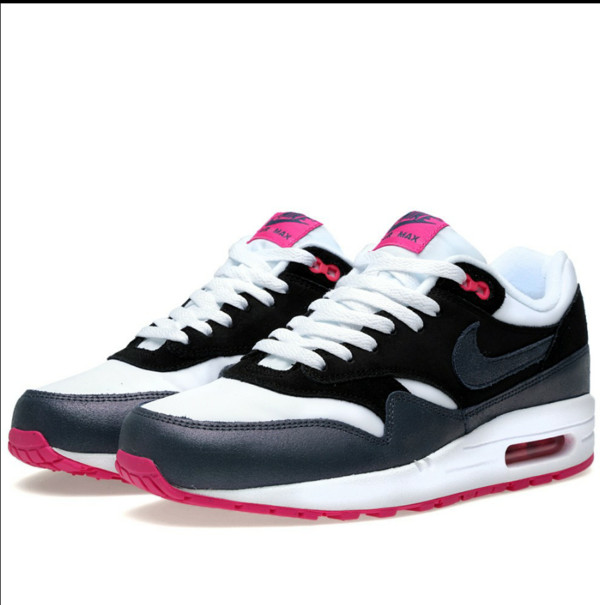 shoes nike nike air force essential women black white