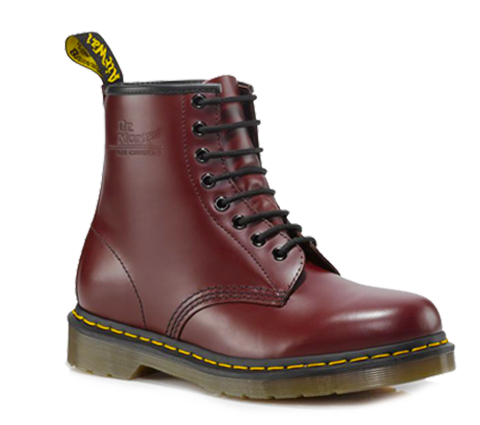 dr martens 1460 cherry red smooth doc martens boots and. Black Bedroom Furniture Sets. Home Design Ideas