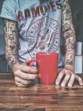 ramones,t-shirt,music,rock,print,mens t-shirt