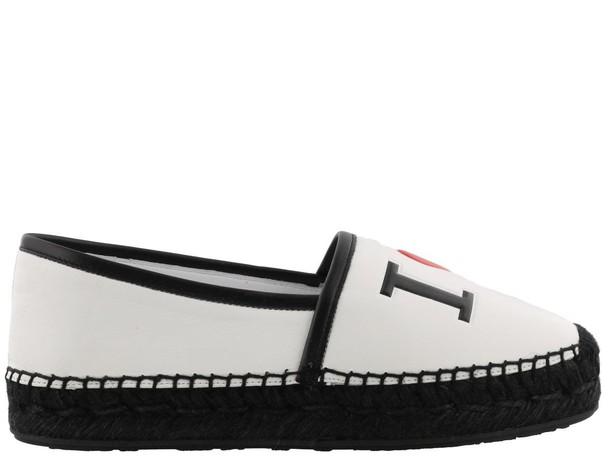 Dolce & Gabbana espadrilles white black shoes