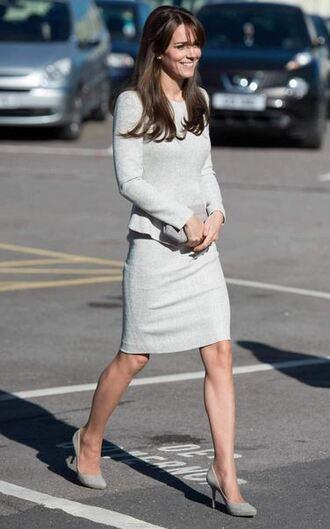 dress midi dress kate middleton pumps fall outfits