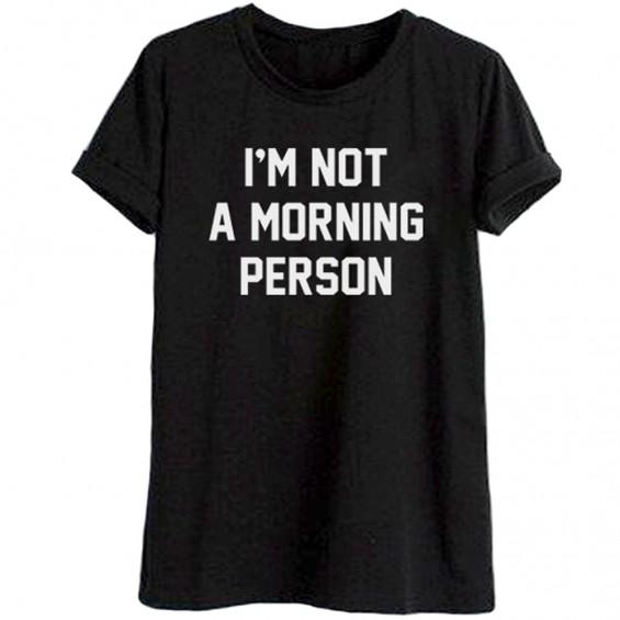 BOOGZEL | Not a Morning Person T-Shirt
