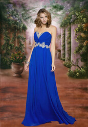 dress,prom dress,long prom dress,royal blue prom dress,evening dress,homecoming dress,bridesmaid