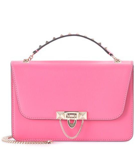 Valentino leather pink bag