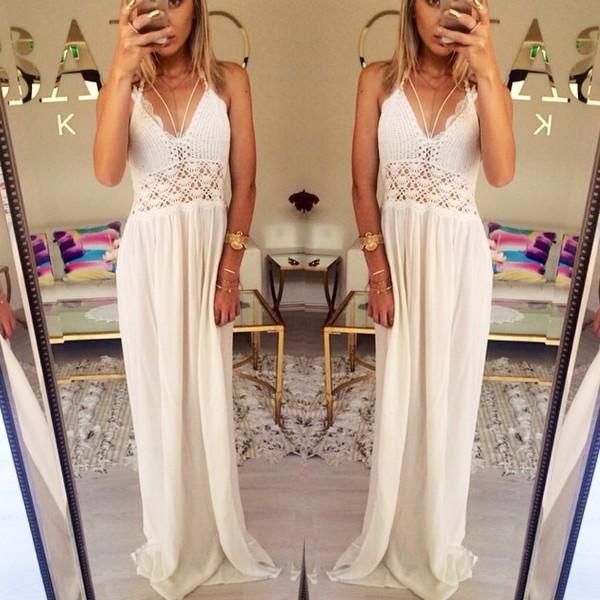 Hem Dress Hem Sexy Style White Dress