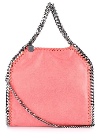 bag chain bag purple pink