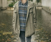coat,mens,green,rain,lookbook,khaki,france,long,fashion