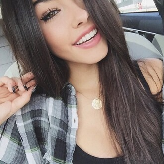 jewels necklace madison beer coin necklace