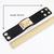 Gold Rivet Black Leather Bracelet - Sheinside.com